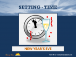 Setting (Time) - New Year's Eve
