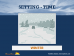 Setting (Time) - Winter
